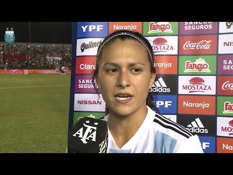 Eliana Stabile habló con AFA luego de la victoria 4 a 0 ante Panamá