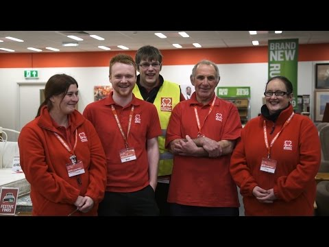 Volunteering in Our Shops - British Heart Foundation