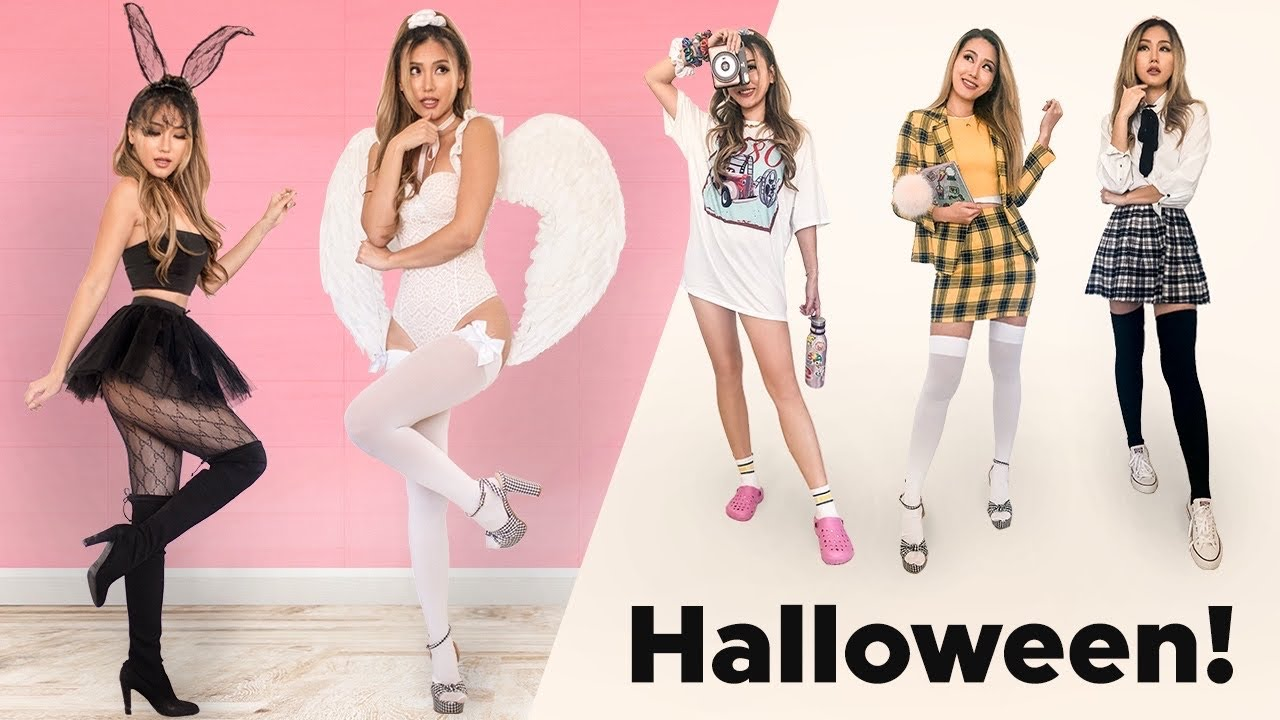[VIDEO] - 10 Halloween Costumes & Outfit Ideas 2019 | SHEIN PRETTYLITTLETHING AMICLUBWEAR 8