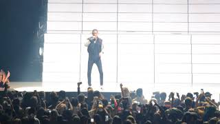 "Halsey ft G -Eazy performing '' No limit"" in barclays center"