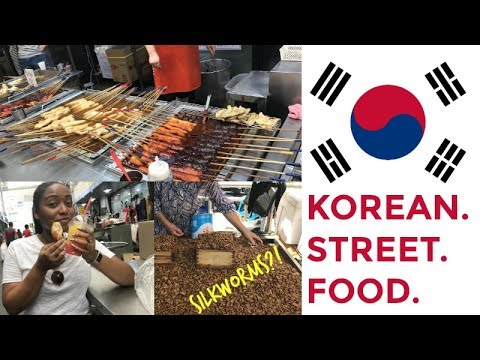 KOREAN STREET FOOD | Seomun Market in Daegu