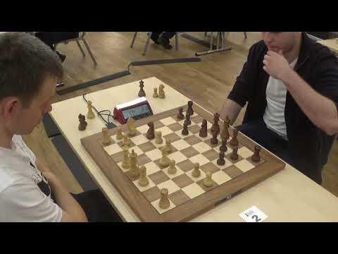 Mutual threats in Aleknine's defense time scramble: Navara - Yuffa, Blitz chess