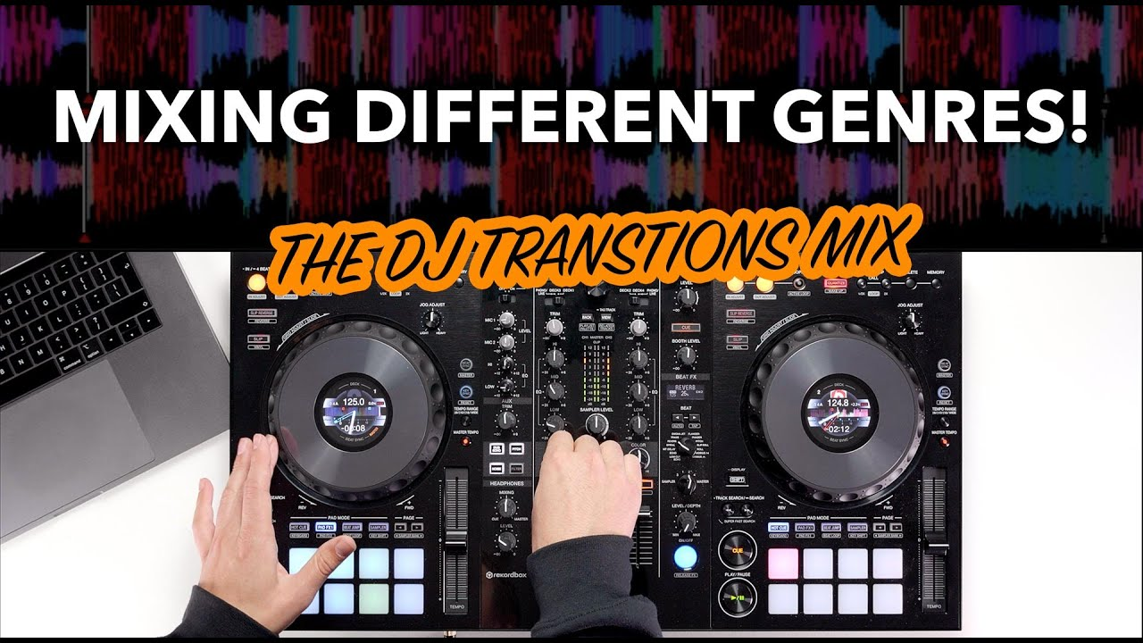 The Genre Challenge - DJ transitions between multiple genres in this QUICK  MIX!