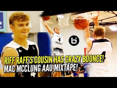 Riff Raff's Cousin Brings Showtime to the Nation's Capital! Mac McClung Summer Mixtape!