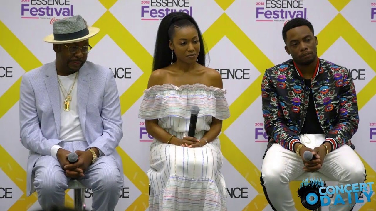 ESSENCE FEST: The cast of The Bobby Brown Story answers questions about the  film