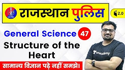 6:30 PM - Rajasthan Police 2019   Biology by Ankit Sir   Structure of the Heart (हृदय की संरचना)