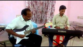 devotional guitar solo Thirunama keerthanam by daniel