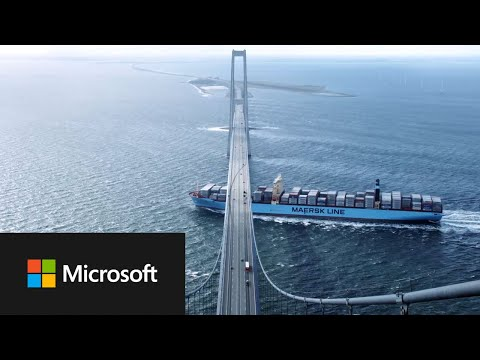Maersk safely transports goods around the globe with Azure and IoT
