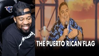 The Puerto Rican Flag   Gabriel Iglesias ( REACTION!!! )