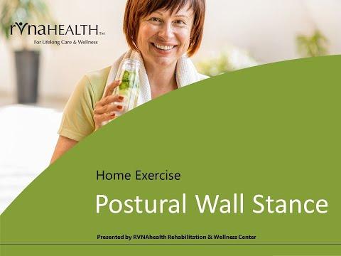 HEP Postural Wall Stance