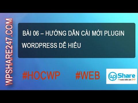 Bài 06 – Hướng dẫn cài mới plugin WordPress dễ hiểu