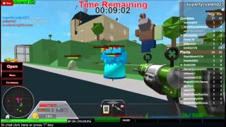 Roblox Plants vs Zombies Battlegrounds part 1