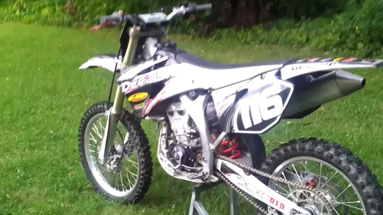 2008 Yamaha YZ250F Special Edition - For Sale - YouTube