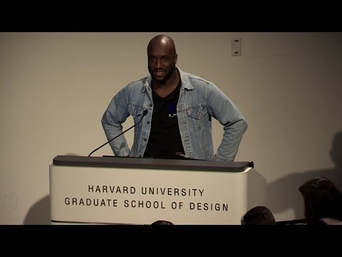 "Core Studio Public Lecture: Virgil Abloh, ""Insert Complicated Title Here"""