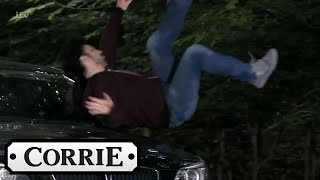 Coronation Street - Ronan Runs Over Ryan and Leanne