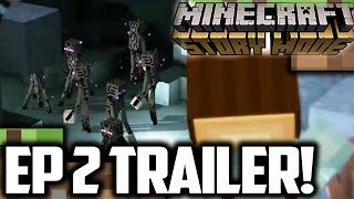 Minecraft Story Mode EPISODE 2 TRAILER Reaction! || EPIC ENDERMEN || Minecraft Story Mode Episode 2