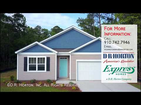 D.R. Horton Express Homes Cali Floor Plan