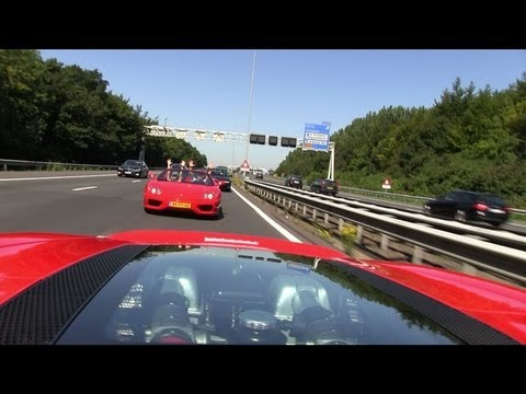 Ferrari Supercar Drive - The hottest weekend of the year in the Netherlands!