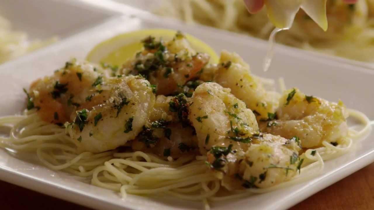 how to make the best shrimp scampi shrimp recipe allrecipescom youtube - Olive Garden Shrimp Scampi