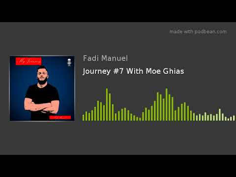 Journey #7 With Moe Ghias (Bodybuilding, Podcasting, and Facing Obstacles)
