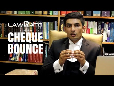 Know your legal rights in case of cheque bounce