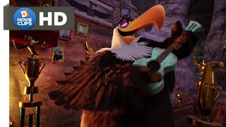 The Angry Birds Movie Hindi (09/14) Mighty Eagle Baba Theme Song MovieClips