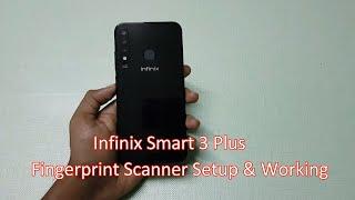 Infinix Smart 3 Plus fingerprint Scanner Setup