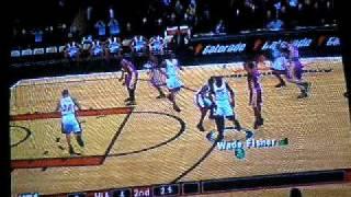 NBA 2K9 GAMEPLAY: LAKERS @ HEAT