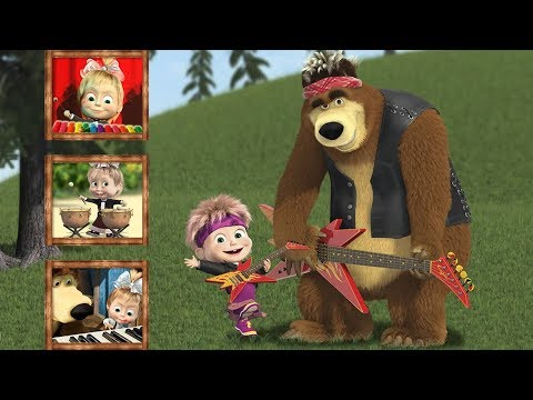 Masha And The Bear Educational Games (Маша и Медведь) - Baby Games Videos