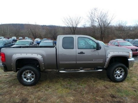 2017 Chevrolet Silverado 1500 Lt Extended Cab 4wd Lifted Truck