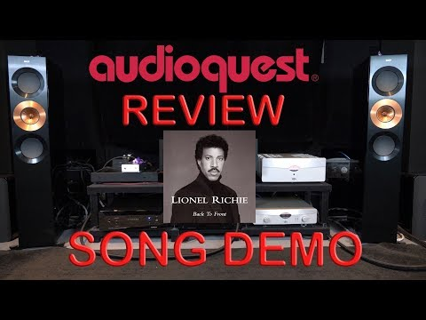 Audioquest Niagara 7000 Review + YBA Passion Song Demo Lionel Richie HiFi Power Cable