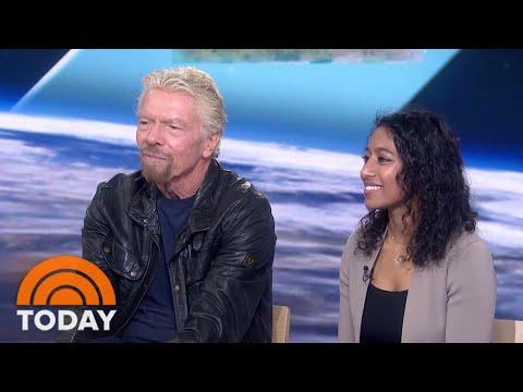 Exclusive: Richard Branson Talks About His Historic Space Flight