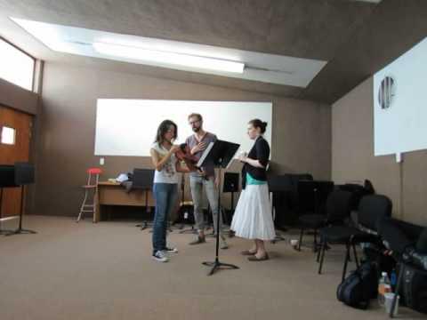 Master class con Evan Few y Rebecca Huber