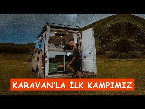 KARAVAN'DA İLK KAMP | İSTANBUL'A YAKIN KAMP ALANI | YALIKÖY