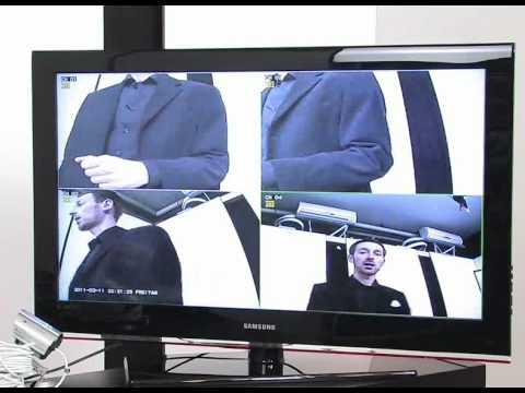VisorTech Überwachungs-Recorder DVR-6004 H.264 für 4 PTZ-Kameras