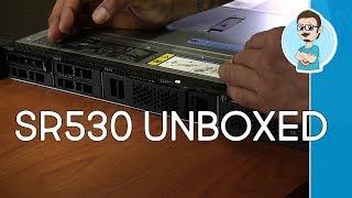 Lenovo ThinkSystem SR530 Server Unboxing   Windows Server 2019 Lab Setup Plans!