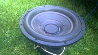 NVX VCW Subwoofer 12'' death part 2 , the killing !