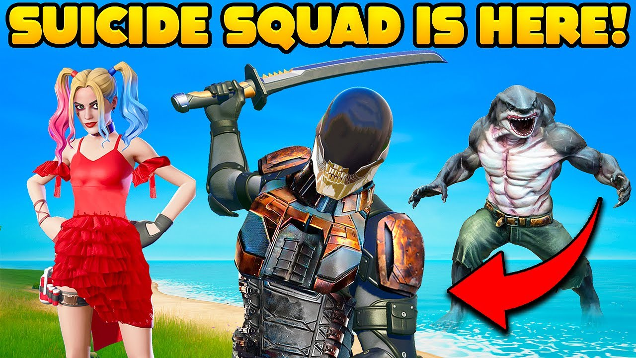 THE SUICIDE SQUAD Just Made Fortnite 10X BETTER!! - Fortnite Funny Fails #1330