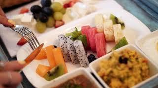 Breakfast in Azrak Lobby Lounge