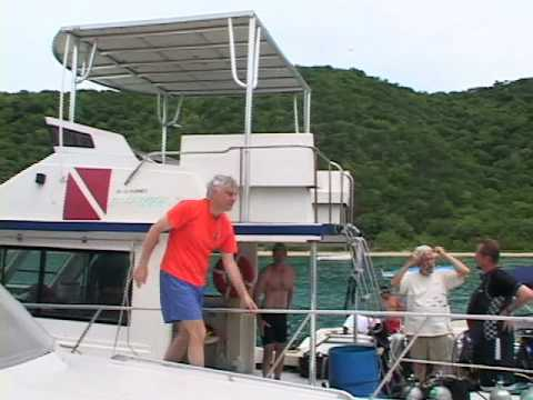 GlobeTrotter Jon Haggins TV in The British Virgin Islands Part One