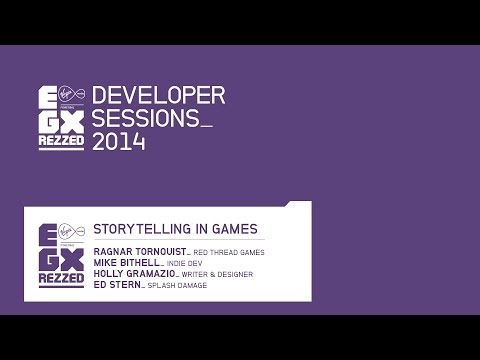 Storytelling in games - EGX Rezzed 2014