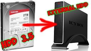 видео Переходник SATA-USB: превращаем внутренний жесткий диск во внешний