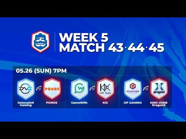 Clash Royale League Asia 2019 Season1 - W5D3