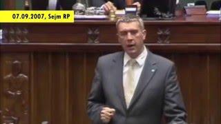 Giertych demaskuje Kurskiego (frag. debaty nad samorozwiązaniem Sejmu V Kadencji, 07.09.2007)