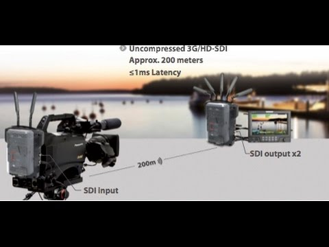 SWIT HD Wireless Uncompressed 1080 HD Video Rental & Sales Camera Packages