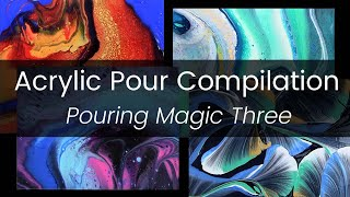 Acrylic Pour Painting Compilation - Amazing Cells - Relaxing Art