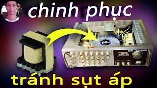 chế nguồn xung cho amply từ  nguồn ATX máy tính, pulsed power amplifier design