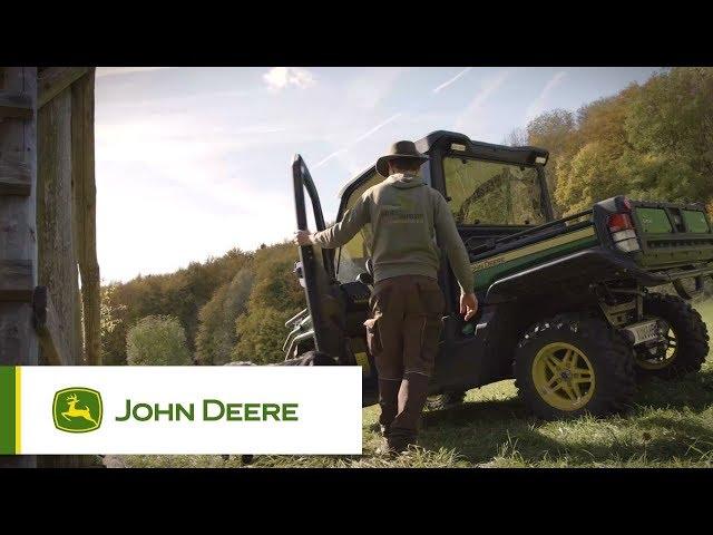 John Deere - Gator - Entrare e uscire facilmente
