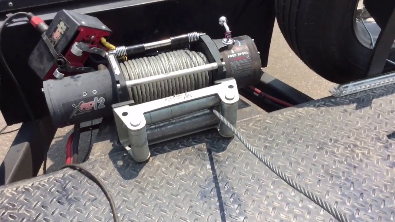 Winch Cable Tensioner Add On To Smittybilt Winch Youtube