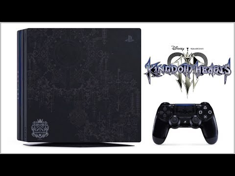 kingdom hearts 3 limited edition ps4 pro europe